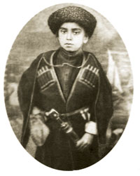 Bakhtiyar Vahabzada as a child