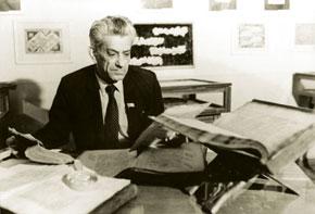 Bakhtiyar Vahabzada reads ancient manuscripts at Azerbaijan Manuscripts Institute
