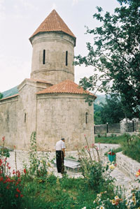 The Apostolic Church of St Eliseus in Kish, Shaki District, 1st-4th centuries