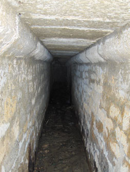 Underground passage unearthed in Baku