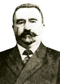 Alimardan bey Topchibashov (1862-1934) Chairman of Azerbaijan's Parliament (1918-1920)