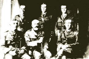 Group of British Police Officers in Baku