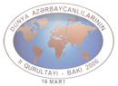 Second World Azerbaijani Congress