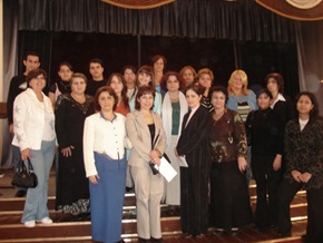 AzETA members after the EEC 3rd Conference, October 2006