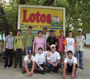 AzETA Summer Camp for Gizildash Orphanage