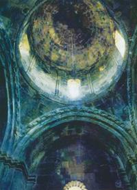 Gandzasar. The cupola