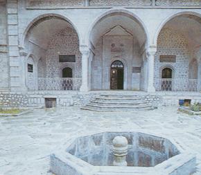 Govghar Aqa´s mosque in Shusha