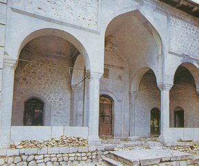 Lower mosque in Shusha