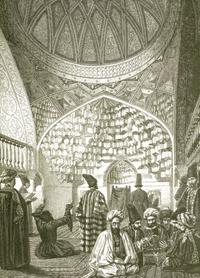 Karabakh Khanate. Drawing by Vereshchagin