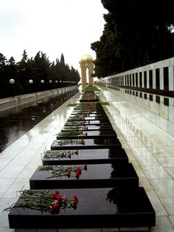 Martyrs' Avenue, Baku