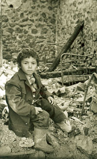 Refugees child