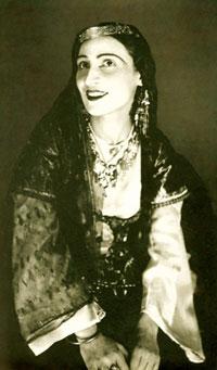 The first performer of Nigar, Gulare Isgenderova