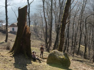 Hiking in the Hirkan