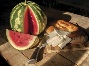 WATERMELON,  Cheese and Tandir