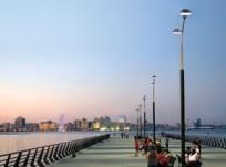 Baku's Seaside Boulevard - Then and Now