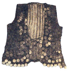 Pullu chapkan (chapkan embroidered with coins) from Karabakh, 19th century