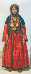 Shaki woman