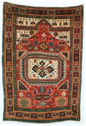 Karabakh carpet, 1870, Herbert Eksner, Germany