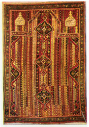Karabakh carpet, early 19th century, private collection, USA