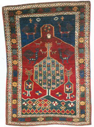 Karabakh carpet, 1875, Herbert Eksner, Germany