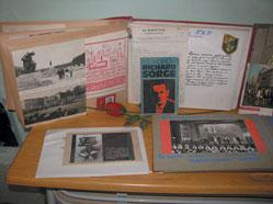 Exhibits in the museum at School N0 90