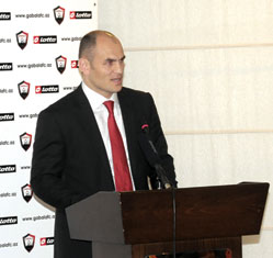Fariz Najafov, Vice-President of Gabala Football Club