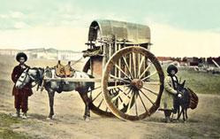 Baku carriage. Late 19th century