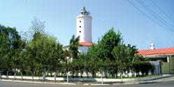 Lighthouse Mayak in Lenkoran