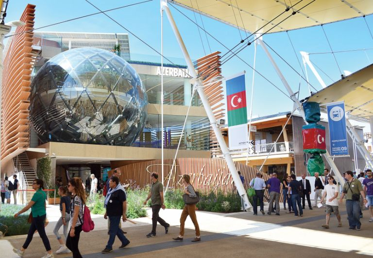 The Azerbaijani pavilion is attracting over a million visitors each month