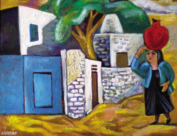 The daily life of rural Azerbaijan