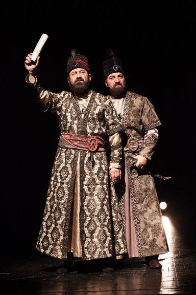 A scene from Shah Qajar