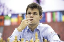 World Chess Champion Magnus Carlsen, Norway