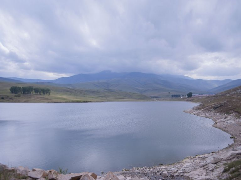 A reservoir in Khosh Bulaq