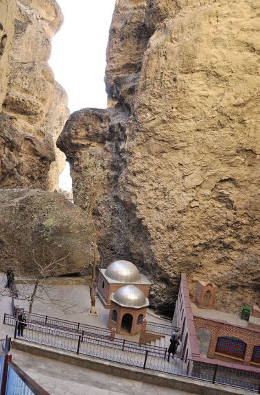 The Eshabi-Kehf cave in Nakhchivan