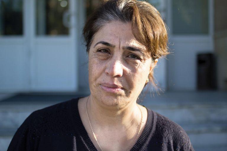 Reyhan Janiyeva's husband Sakhavat went missing in Fuzuli in 1994. Photo: Tom Marsden
