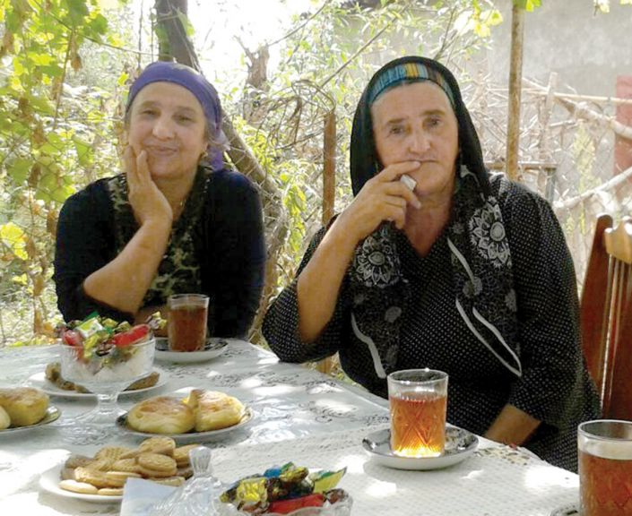 Family gathering in Astara, August 2014. Photo: ICRC