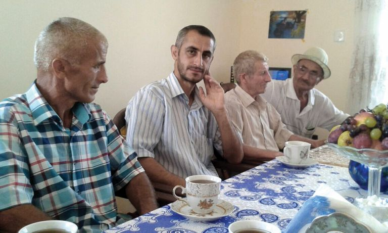 Fathers' group meeting in Astara, September 2014. Photo: ICRC