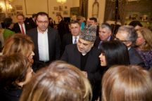 Dinner hosted by the Sheikh ul-Islam Haji Allahshukur Pashazade, Grand Sheikh of all Muslims of Azerbaijan and the Caucasus Nov 3, 2015