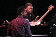 Elchin Shirinov performing at the Saint-Germain-des-Prés jazz festival on 27 May 2016