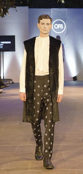 The menswear designs are distinctive, yet understated
