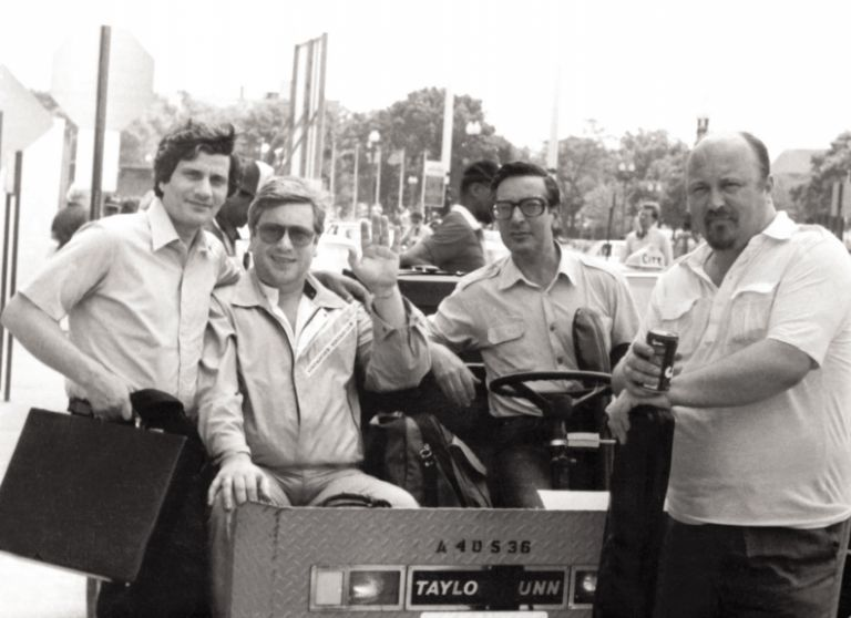 North American Tour: (left to right) Rovshan Rzayev, Vladimir Vinokur, Yuri Sardarov, Yevgeniy Martinov