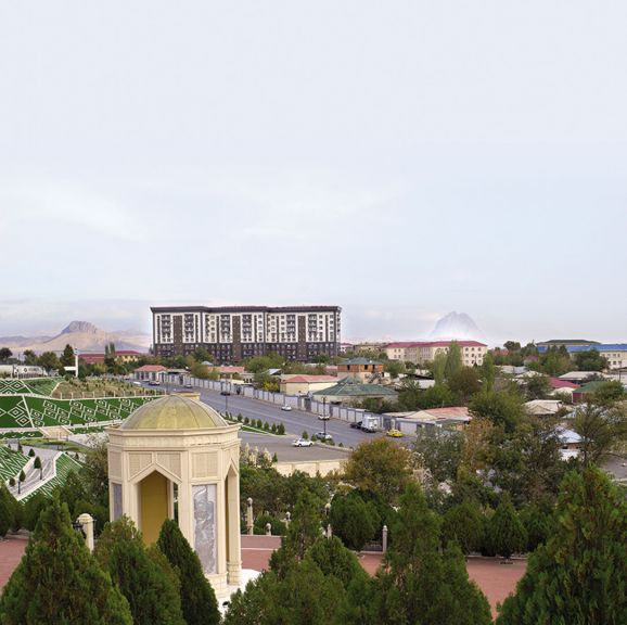 View of Nakhchivan City