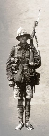 British soldier in Baku in 1918