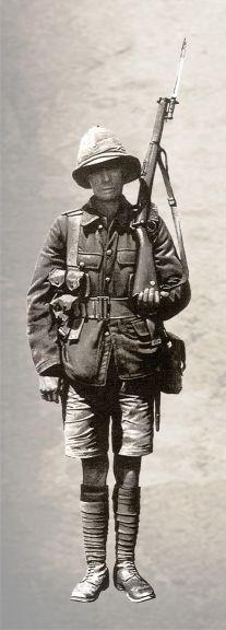 British soldier in Baku in 1918