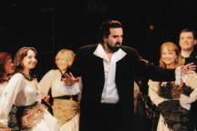 Elchin Azizov in performance
