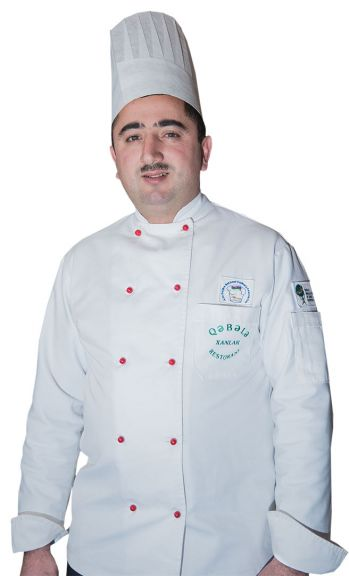 Head chef Zahir