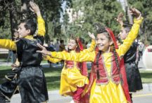 Various performances by children during the event
