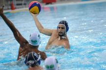 Iran beat Saudi Arabia 11-6 in the round-robin stages of the men's water polo on 14 May. Photo: Eldar Farzaliyev