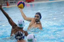 Iran beat Saudi Arabia 11-6 in the round-robin stages of the men's water polo on 14 May. Photo: Eldar Farzaliyev