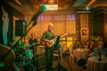 Rafig Bunyatov is the edge in Rauf Sultanov's band